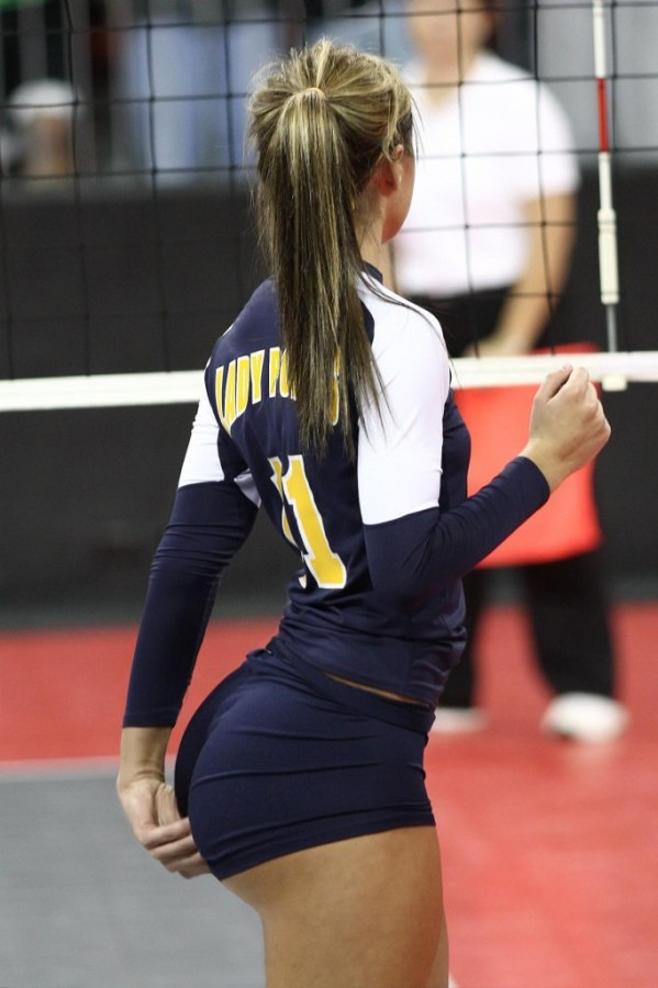 girls in volleyball shorts sex
