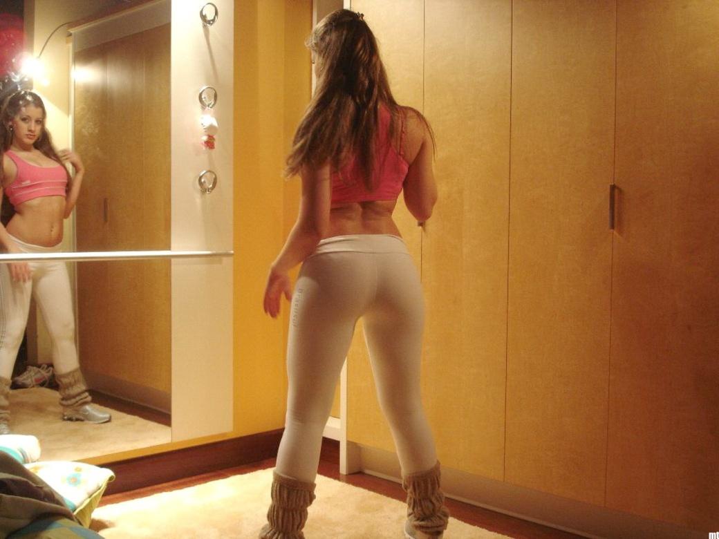tight ass pants nude