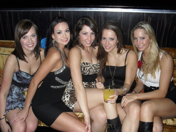Because 5 chick in tight dressed are always better than one!