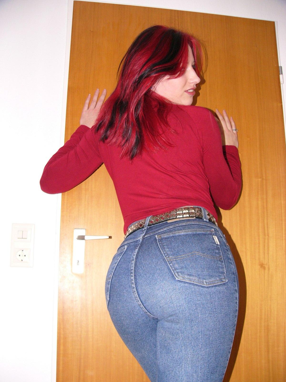 Big ass tight pants