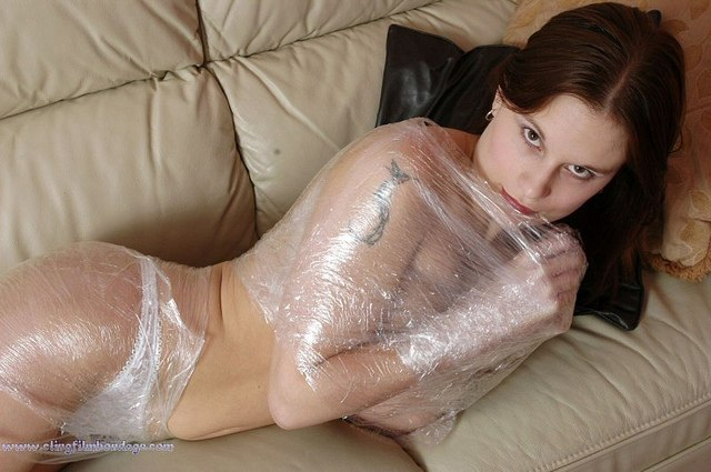 girls_wrapped_plastic_foil-10