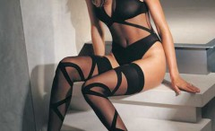 babes-wearing-black-nylons