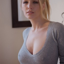 nipples-poking-through-sweater