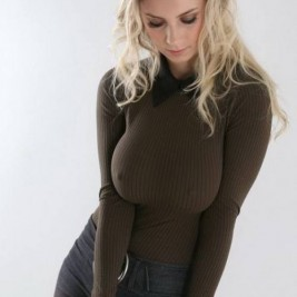 tight sweater girl 19 267x267 Girls wearing tight sweaters