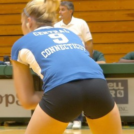 volleyball tight shorts 15 267x267 Girls playing volleyball in tight shorts