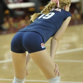 volleyball tight shorts 19 267x267 Girls playing volleyball in tight shorts