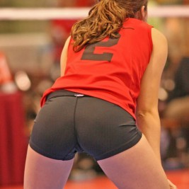 volleyball tight shorts 23 267x267 Girls playing volleyball in tight shorts