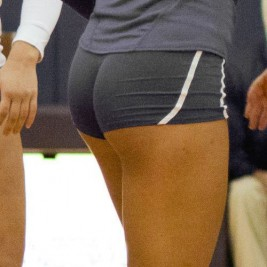 volleyball tight shorts 28 267x267 Girls playing volleyball in tight shorts