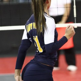 volleyball tight shorts 29 267x267 Girls playing volleyball in tight shorts