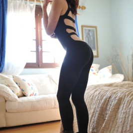 girl in tight black pants 05 267x267 Sexy girl in tight black pants