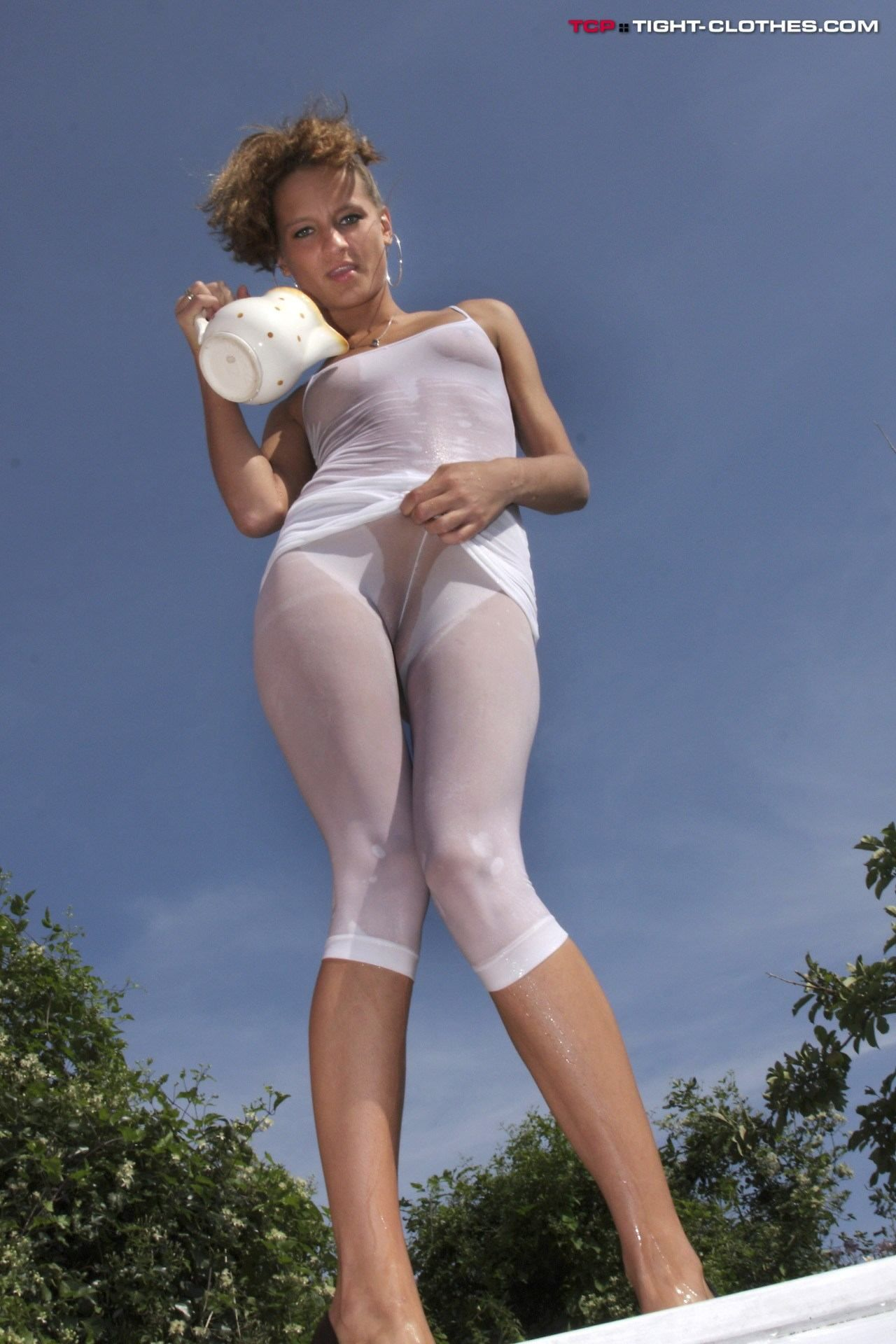 tight wet clothes porn