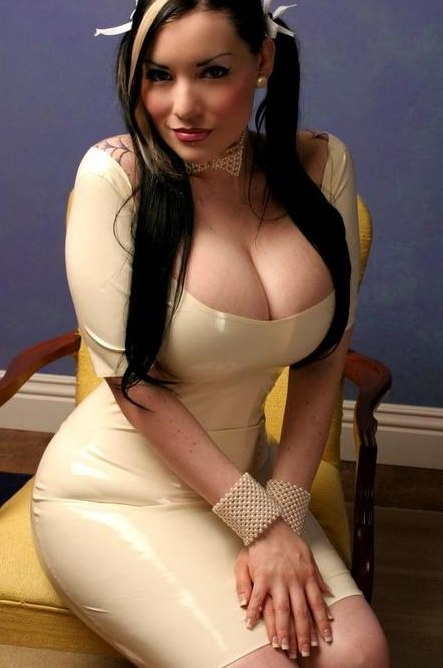 Kinky babe in latex dominated by master 6