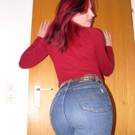 tight jeans pants girls 35 267x267 Hotties wearing tight jeans pants