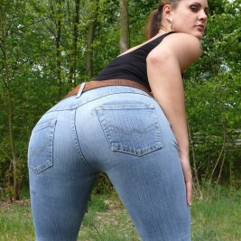 tight jeans pants girls 37 267x267 Hotties wearing tight jeans pants