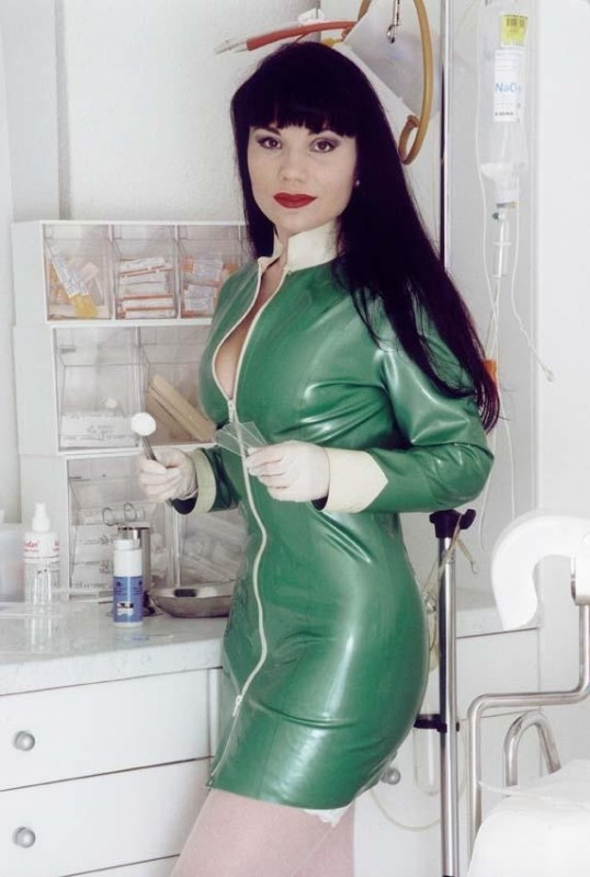 Naughty Nurses In Latex Uniforms