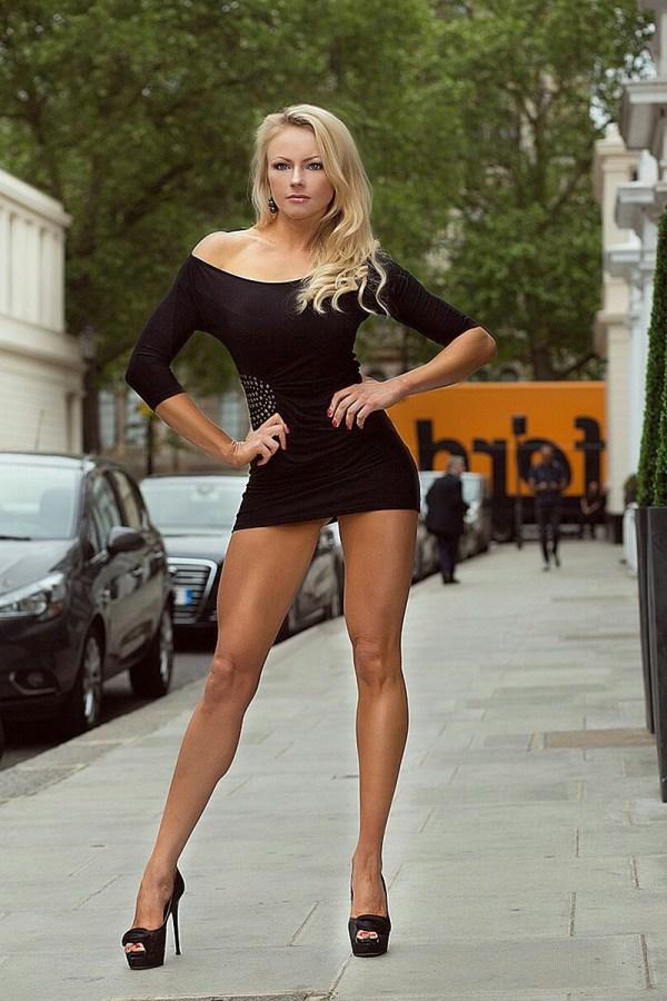 Slutty girls wearing tight dresses